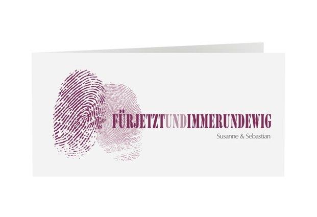 Einladungskarte Hochzeit Kollektion Messina