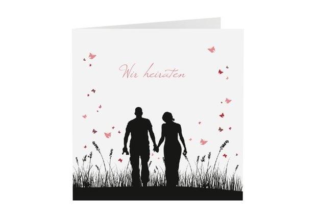 Einladungskarte Hochzeit Kollektion Rouen