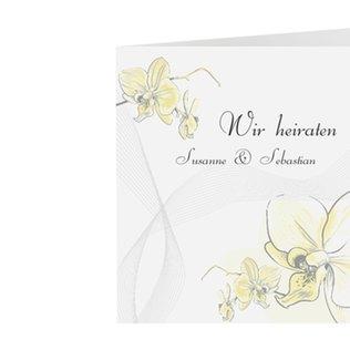 Einladungskarte Hochzeit Kollektion Modena