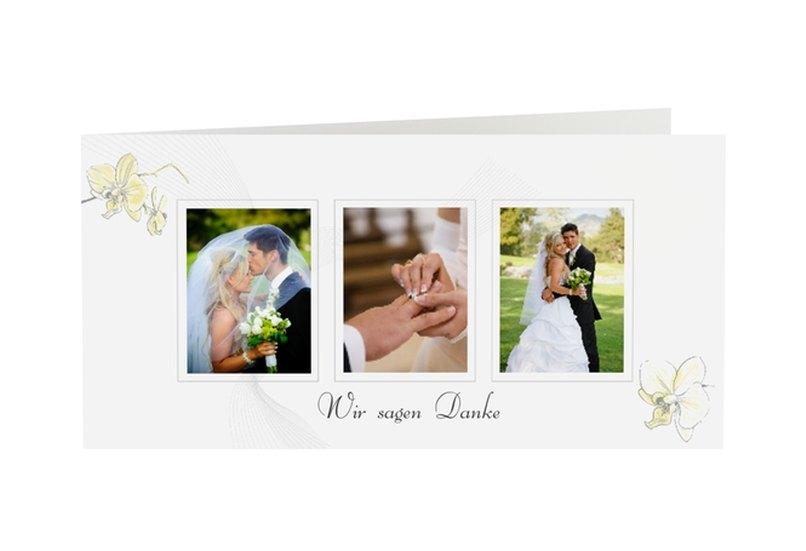 Danksagungskarte Hochzeit Kollektion Modena
