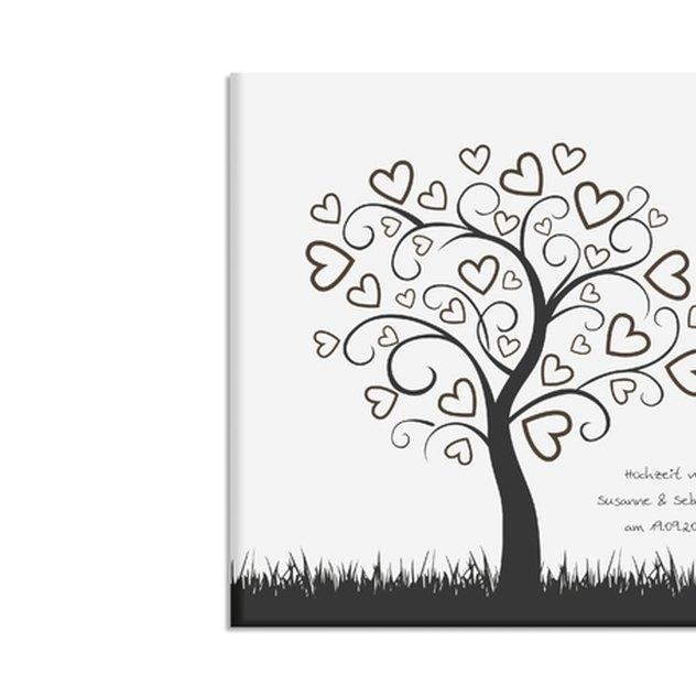 Wedding-Tree Leinwand