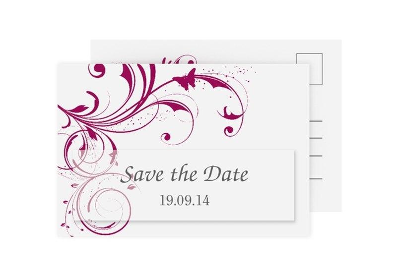 Save the Date-Karte Hochzeit Kollektion Palma