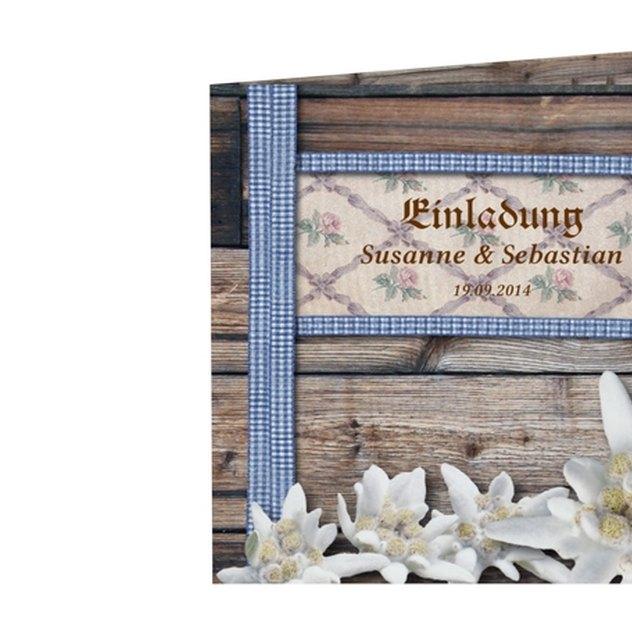 Einladungskarte Hochzeit Kollektion München