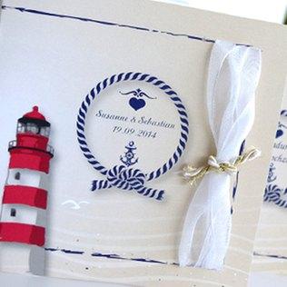 Hochzeitseinladungskarten maritim
