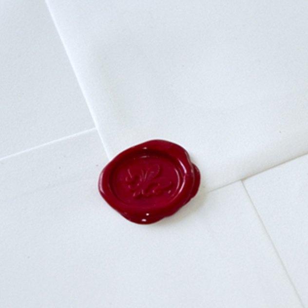 Kuvert mit Siegelschloss