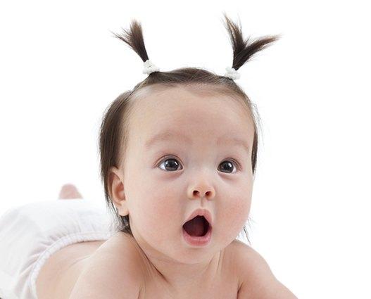 Babyfrisur Haargummi
