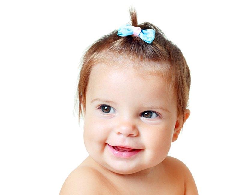 Babyfrisur Schleife