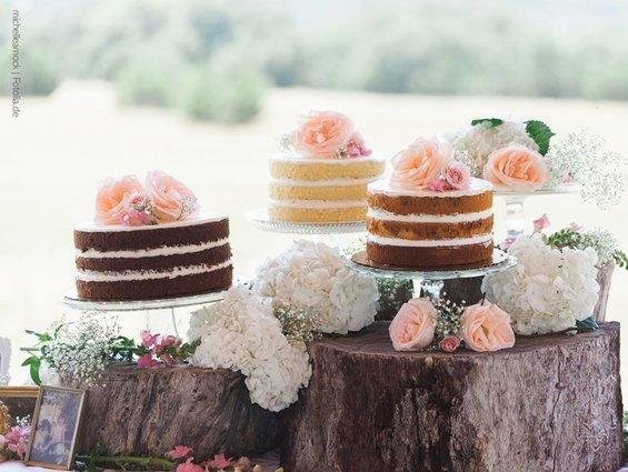 wedding cake, hochzeitstorte, naked cakes, kuchen, tore, blumendeko