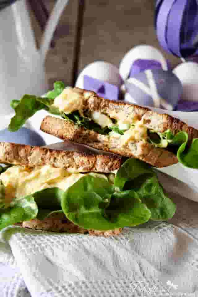 Egg Salad Sandwich als Rezept für Ostern