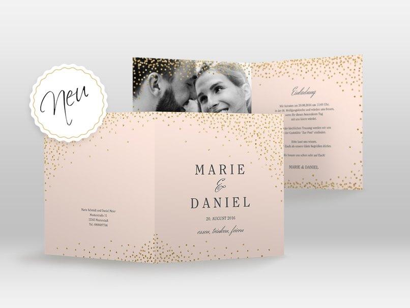 Moderne Hochzeitseinladungen Oder Vintage Charme Myprintcard