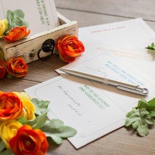 Eine Tolle Alternative für den Glückwunsch oder Spruch im Gästebuch