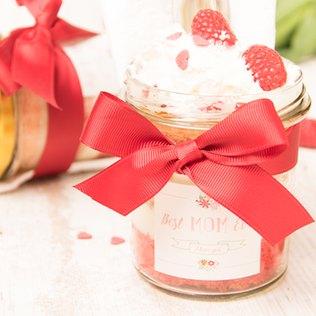 Kuchen im Glas zum Muttertag