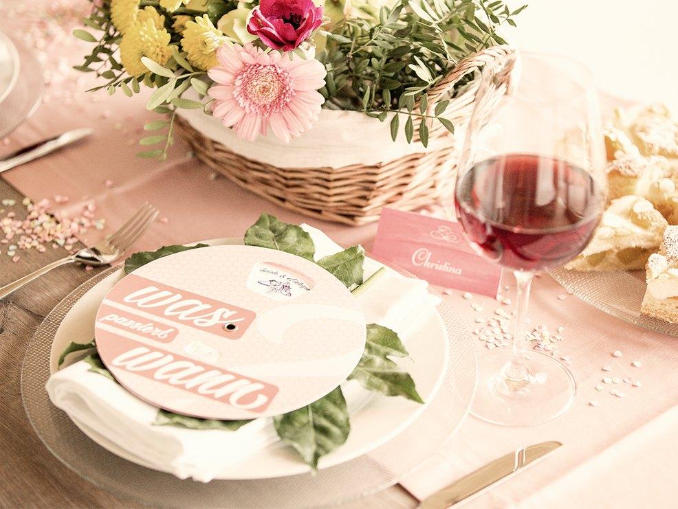 Tagesablauf Und Zeitplan Fur Die Hochzeit Myprintcard