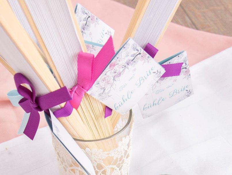 Super Abkühlung für die Hochzeitsgäste
