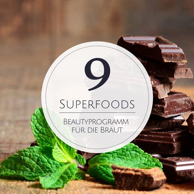 9 Superfoods, die jede Braut kennen sollte