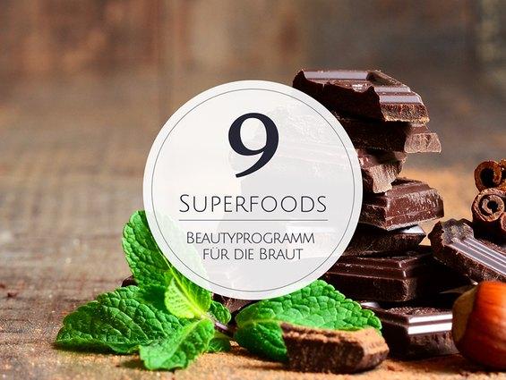 9 Superfoods für das Beautyprogramm vor der Hochzeit