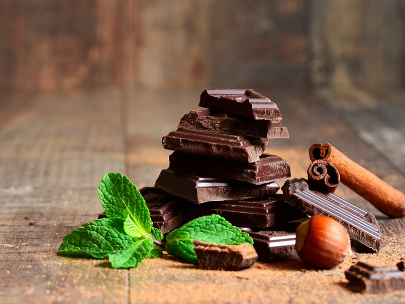 Schokolade, nicht nur lecker sondern mit hohem Kakaoanteil auch richtig gut