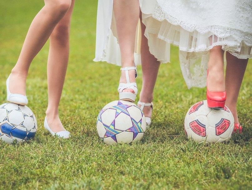 Fußball und Hochzeit sind kein Widerspruch