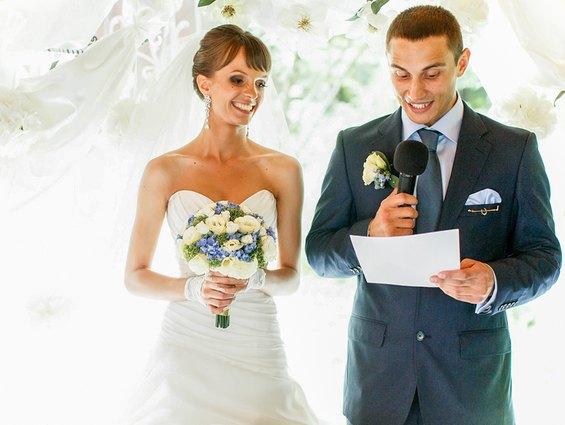 So wird die Dankesrede auf der Hochzeit zu einer Rede mit Witz und Charme
