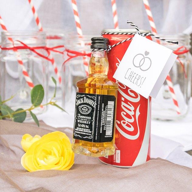 Cocktail-Kit für den Sektempfang auf einer Hochzeit