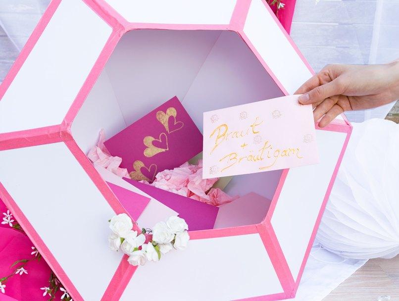 Die Briefbox Aus Papier Fur Geldgeschenke Myprintcard