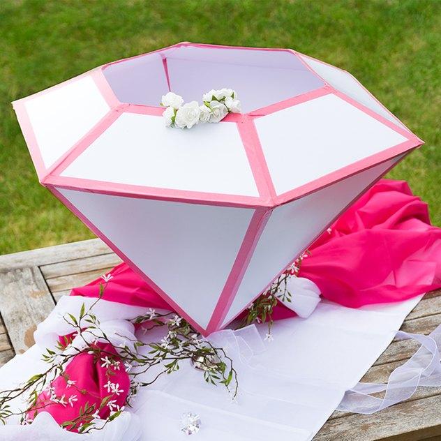 Sammelbox für Hochzeitskarten