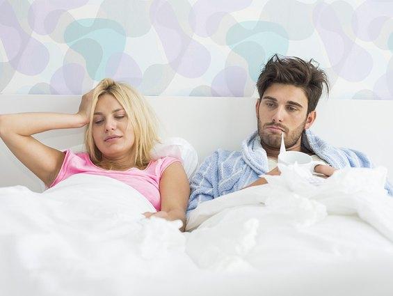 Krank am Hochzeitstag - Das ist ärgerlich