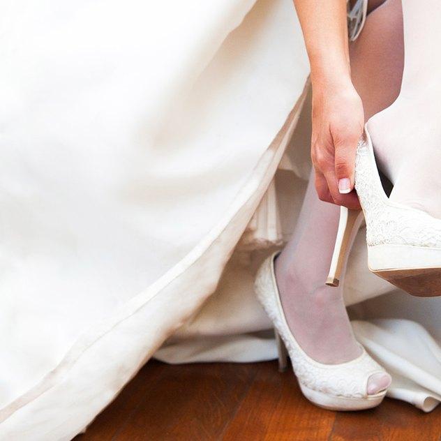 8 Tipps zum Brautschuhkauf