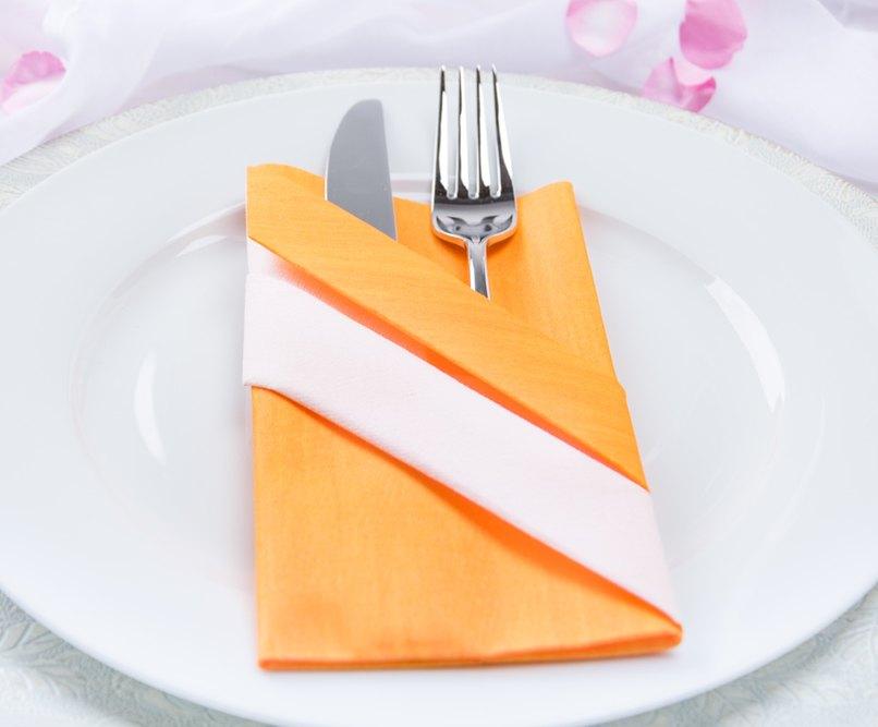 Serviettentasche Falten kreativ servietten falten die bestecktasche myprintcard