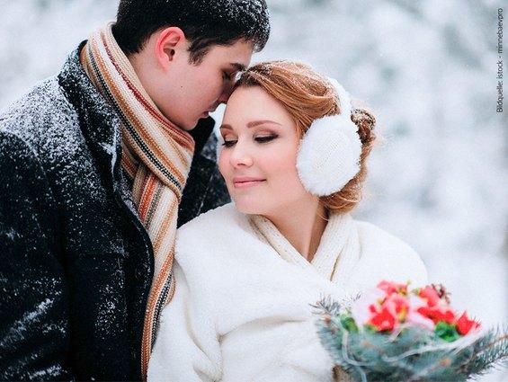 Hochzeitsfoto Winterhochzeit