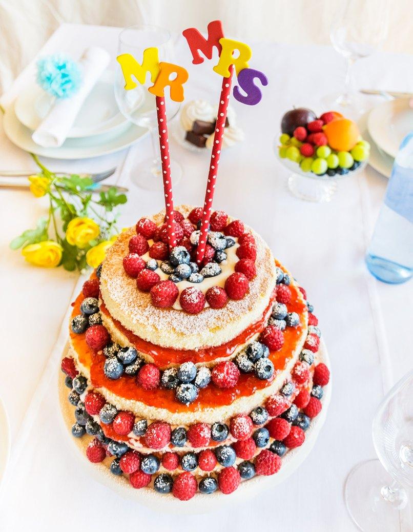Schnelle Cake Topper Variante zum Selbermachen