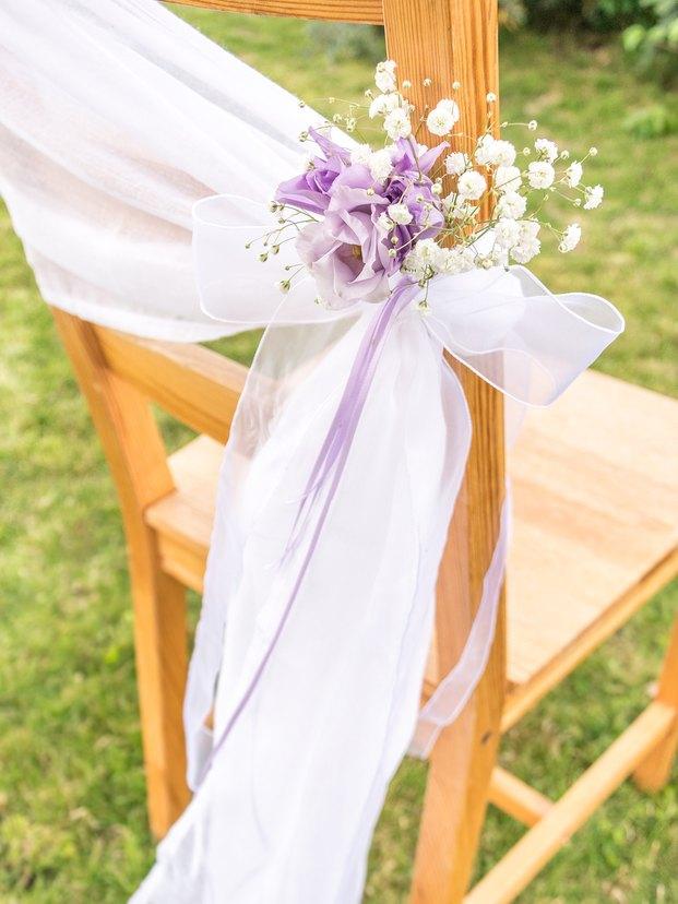 Eine Ausgefallene Stuhldeko F R Die Hochzeit Zum
