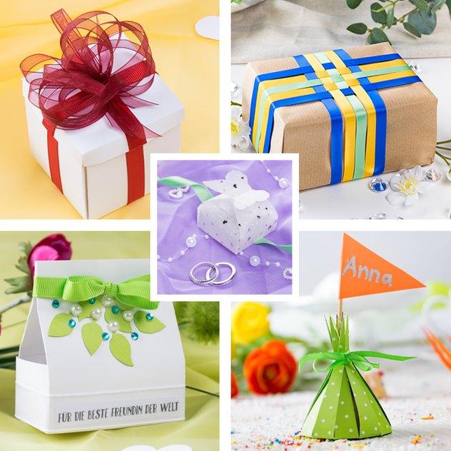 Fünf Ideen für eine kreative Geschenkverpackung