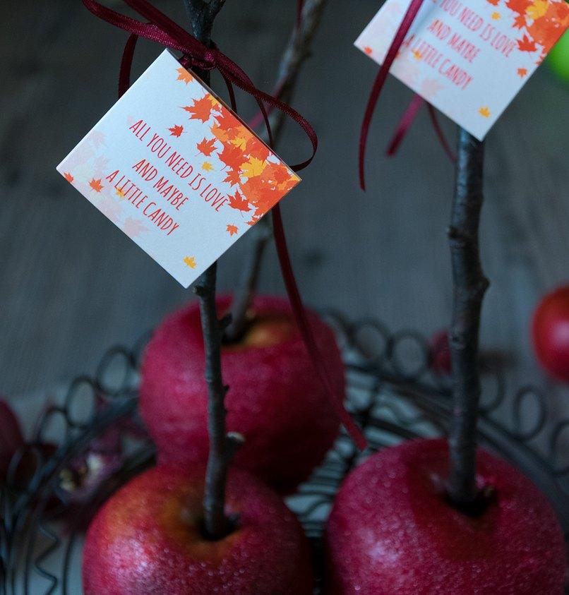 Ein schicker Geschenkanhänger wertet die Candy Bar gleich auf
