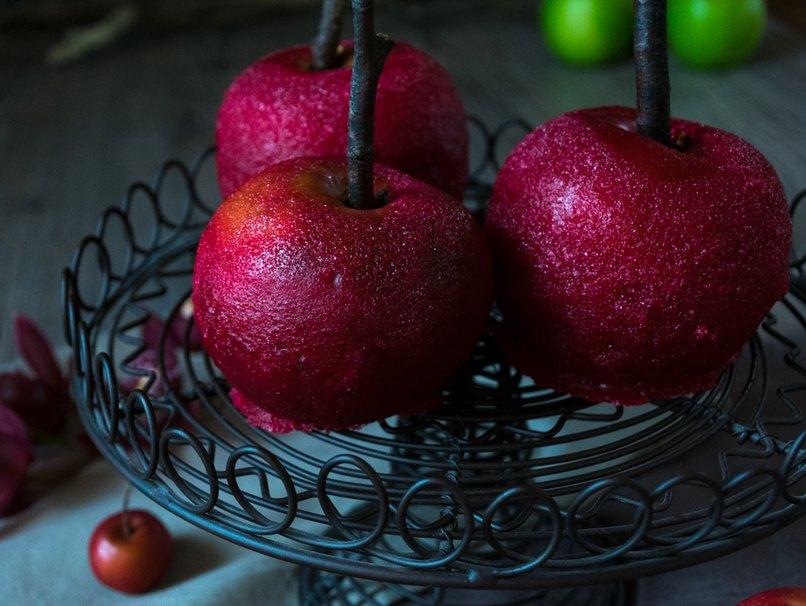 Rezept für kandierte Äpfel