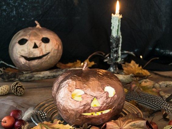 Halloween ist Gruselzeit. Wir gruseln mit der schaurig schönen Halloween Deko