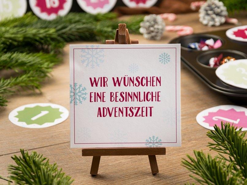 Der Selbstgemachte Adventskalender Zum Download Myprintcard