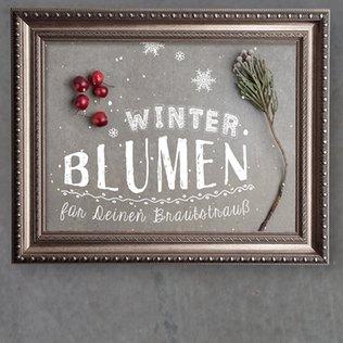 Winterblumen für Euren Brautstrauß