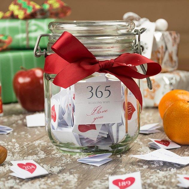 Eine tolle selbst gemachte Geschenkidee zu Weihnachten