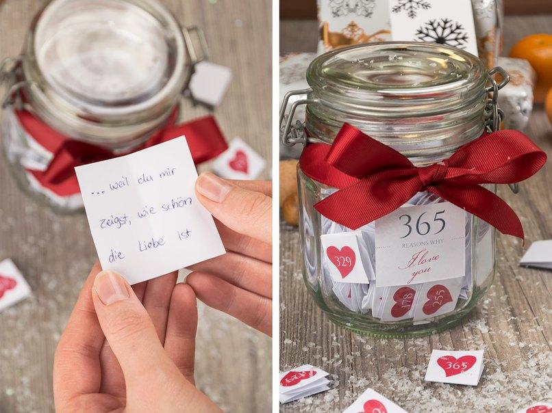 Ein selbst gemachtes Weihnachtsgeschenk von Herzen – myprintcard