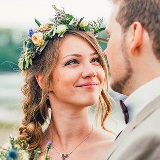 Das sind die Brautfrisur Trends 2017