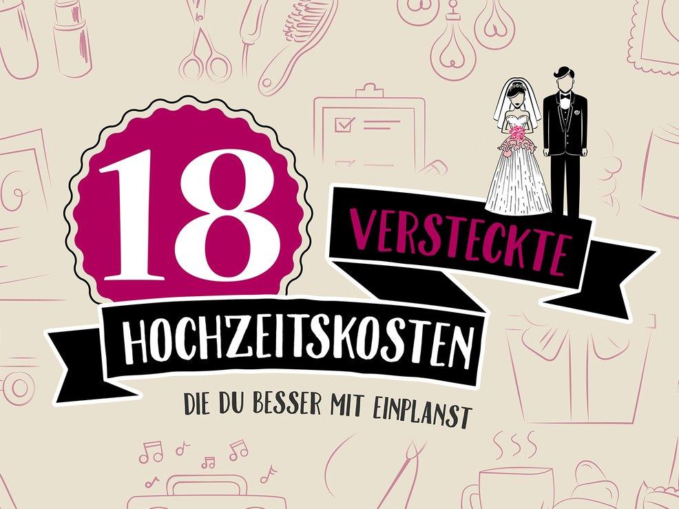 18 Versteckte Hochzeitskosten Und Wie Ihr Sie Spart