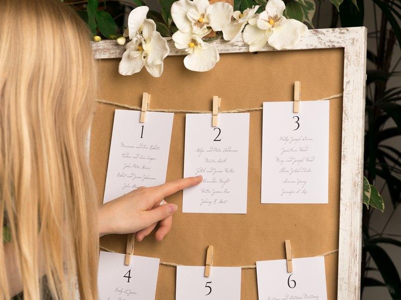 Der Sitzplan Fur Die Hochzeit Fragen Antworten Ideen Myprintcard