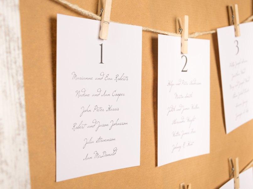 der sitzplan f r die hochzeit fragen antworten ideen myprintcard. Black Bedroom Furniture Sets. Home Design Ideas
