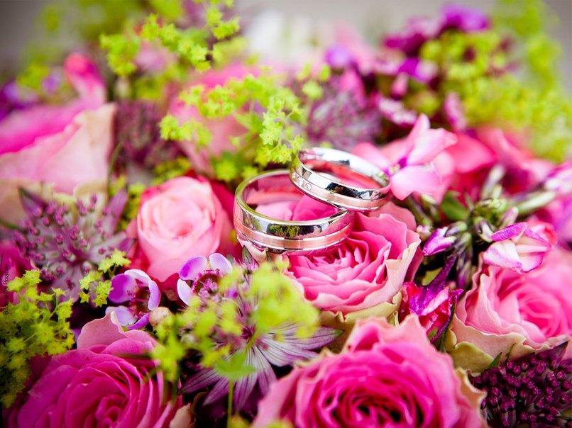 Die Blumen Hochzeit Und Die Sprache Der Liebe Myprintcard