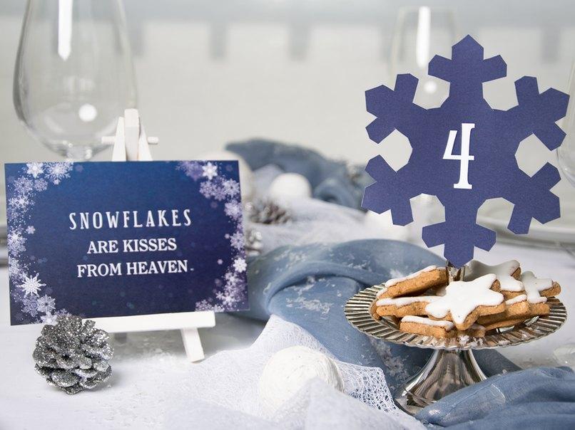 So Meisterst Du Die Tischdeko Fur Deine Winterhochzeit Myprintcard