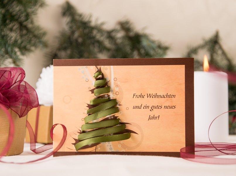 Kreative Weihnachtskarten selber machen... – myprintcard