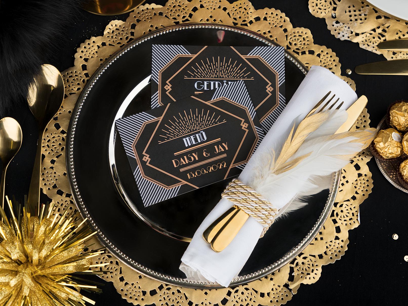 Die Gatsby Hochzeit Im Stil Der 20er Jahre So Gelingt S Myprintcard