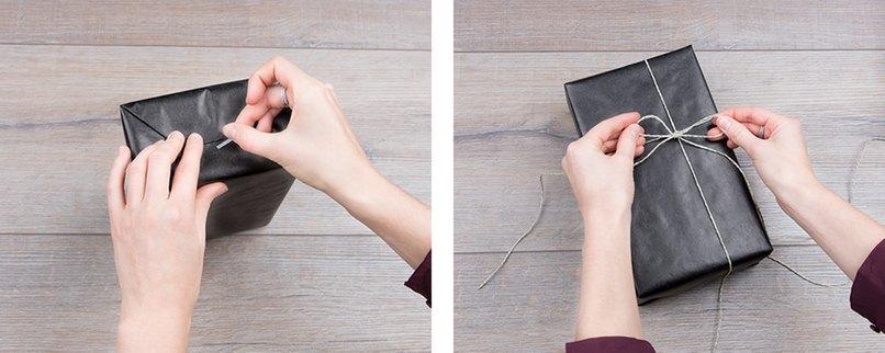 stilvoll verpacken weihnachtsgeschenke im diy look myprintcard. Black Bedroom Furniture Sets. Home Design Ideas